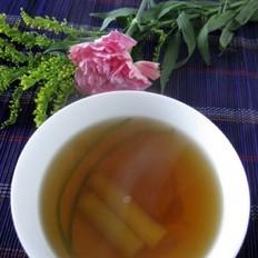 葱白香菜红糖水