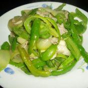 尖椒肉丝葫芦瓜