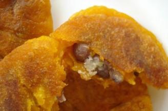 蜜红豆南瓜饼的做法