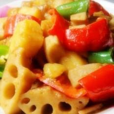 香辣藕炖土豆