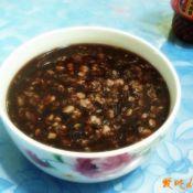 紫米燕麦粥