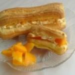 芒果奶油泡芙