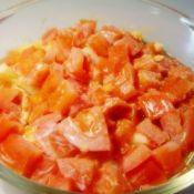 番茄菜花蒸蛋
