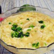 豆腐条儿汤