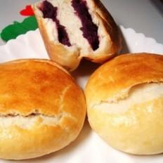 香酥紫薯饼