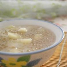 椰浆西米甜瓜粥