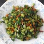 黄瓜胡萝卜丁