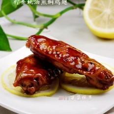 柠香蚝油煎焖鸡翅