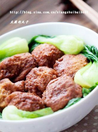 豆腐肉丸子的做法