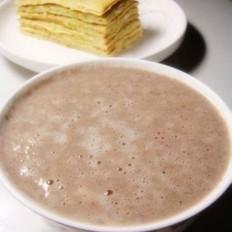 黄豆黑米豆浆