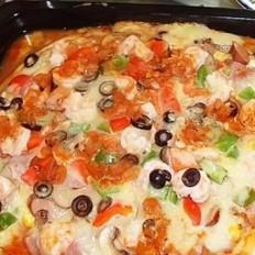 海鲜田园披萨