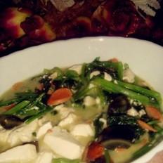 菠菜皮蛋汤