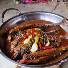酸菜泡椒青条鱼
