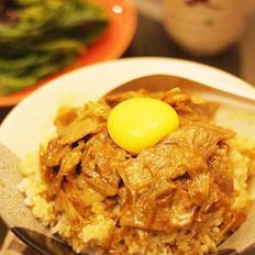 大葱豚肉丼