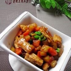 酱烧豆腐土豆丁