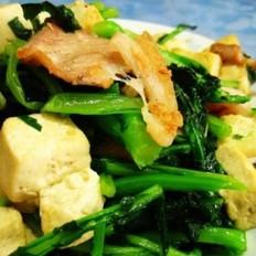 苔菜豆腐炒肉