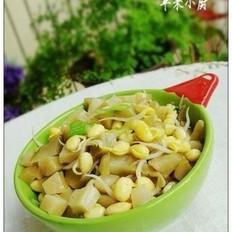 黄豆芽炒榨菜
