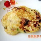 香菇豆渣饼