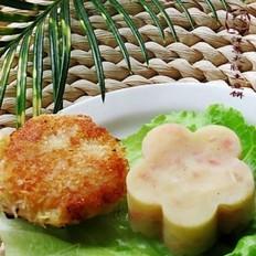 洋葱火腿土豆饼