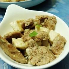 虾酱鸡蛋炒豆腐