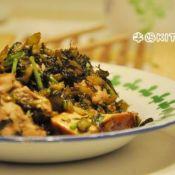酸菜肉末豆干