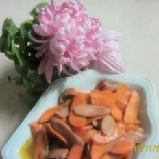 胡萝卜火腿
