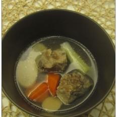 杏鲍菇排骨汤
