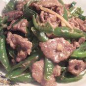 杭椒小炒牛肉