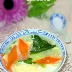 高汤时蔬鸡蛋汤