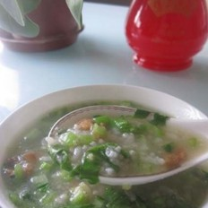 青菜瘦肉杂粮粥