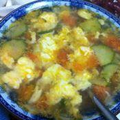 雞蛋柿子蛋花湯