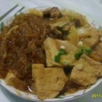 冻豆腐粉条炖白菜