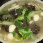 青菜三鲜汤