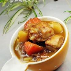 番茄鸡腿炖土豆