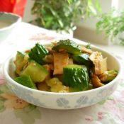 凉拌黄瓜豆腐干的做法