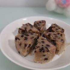 蜜豆芋头糕