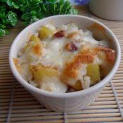 土豆腊肠焗饭