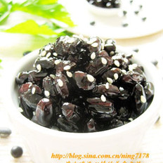 韓式蜜黑豆