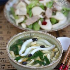 海蘑菇蛋丝汤