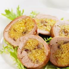 咖喱饭猪肉卷