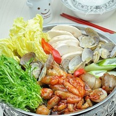 章鱼海鲜火锅的做法大全