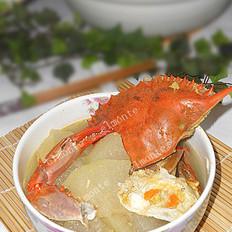 海蟹冬瓜煲
