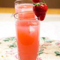 草莓石榴汁