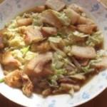 猪头肉炒白菜