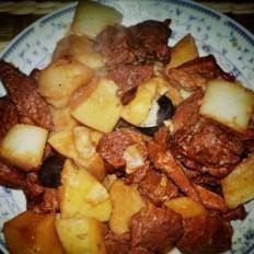 土豆蘿卜燉牛肉