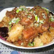 红烧排骨粽子
