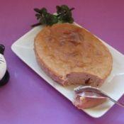 紫薯蔓越莓重乳酪蛋糕