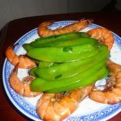 荷蘭豆炒蝦