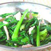 油麦菜炒肉