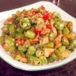 辣椒炒四季豆